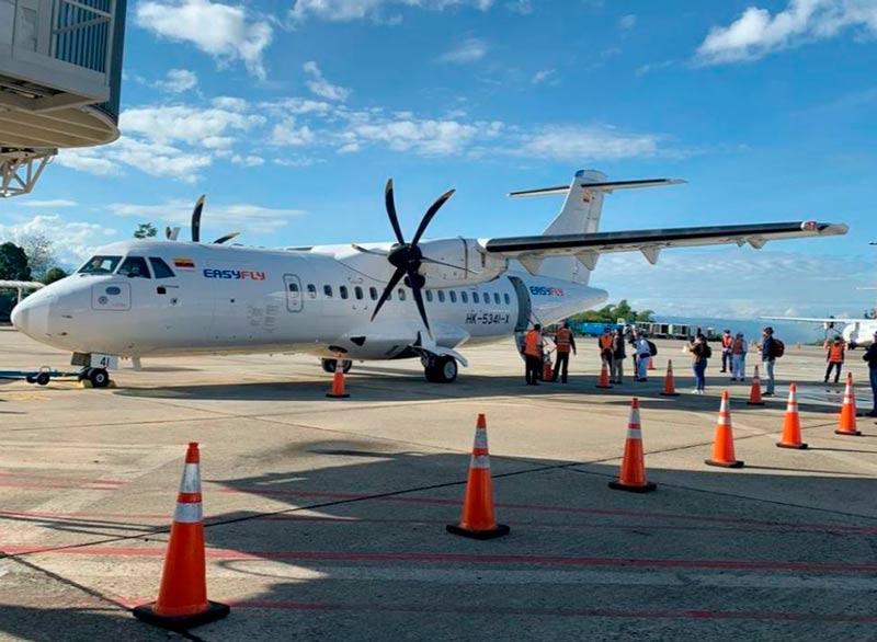 Inicia piloto de vuelos nacionales
